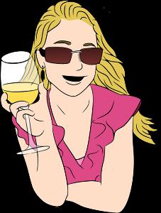 Witze über blonde Frauen.